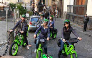 Tour per il centro storico di Napoli in E-bike, chiesa dei Girolamini